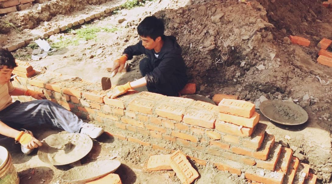 ネパールで建築 小林紀慧